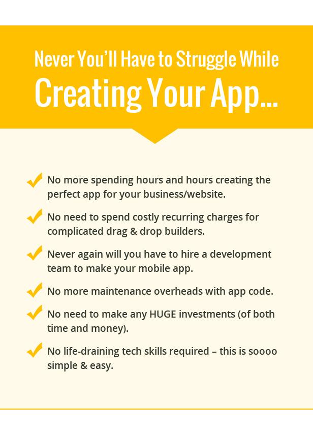 Create WordPress Apple iOS Mobile App Maker and Builder Download